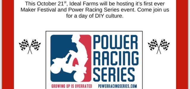 2nd Annual Ideal Farm Makerfest is on! The folks at the farm had so much fun that they are doing it again.  There will be pumpkins, cows that eat donuts, off road Power Racing Series […]